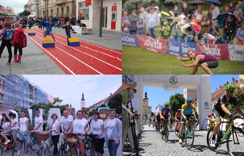 13c21d1dc Komisári navštívia počas svojej návštevy viaceré športoviská a športové  aktivity v našom meste, pod drobnohľad si zoberujú aj športovú  infraštruktúru či ...